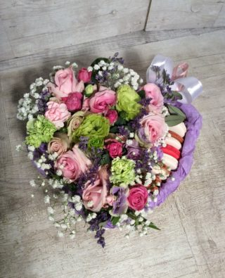 Цветы в коробке №54