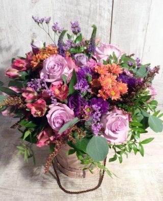 Цветы в коробке №44