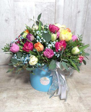 Цветы в коробке №56