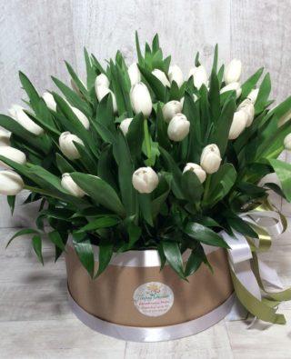 Цветы в коробке №59