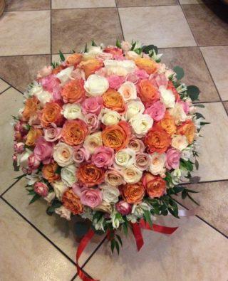 Букет роз №56