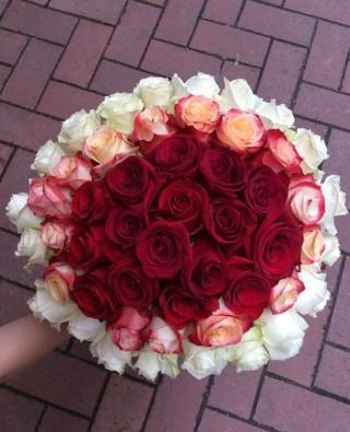 Букет роз №45