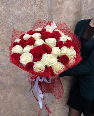 Букет роз №50