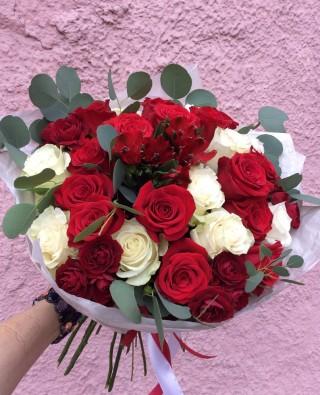 Букет роз №53