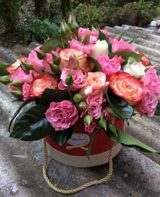 Цветы в коробке №15