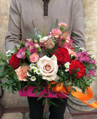 Цветы в коробке №2