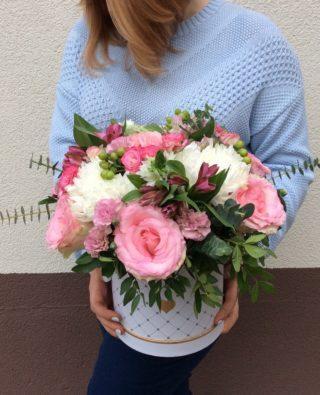Цветы в коробке №5