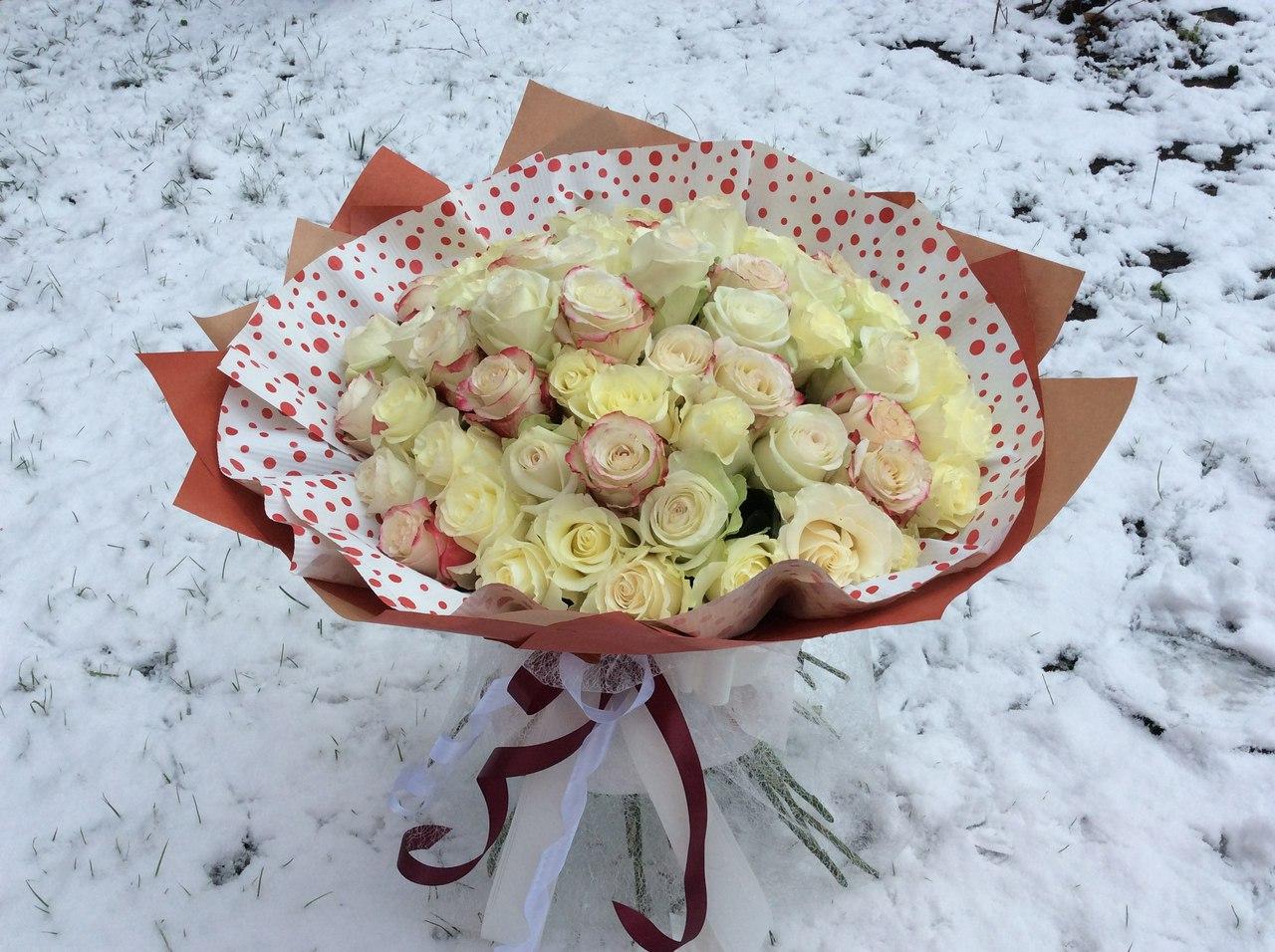 Цветы в коробке и цена 46