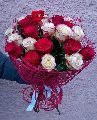 Букет роз №15