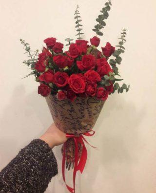 Букет роз №20