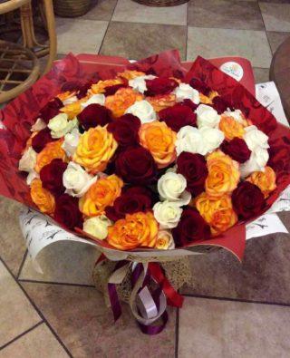 Букет роз №37