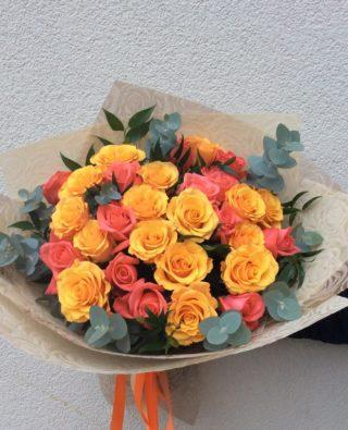 Букет роз №25