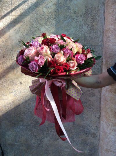 Букет роз №27