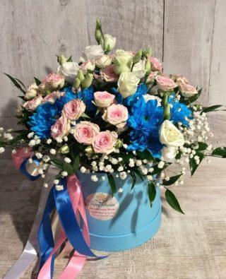 Цветы в коробке №24