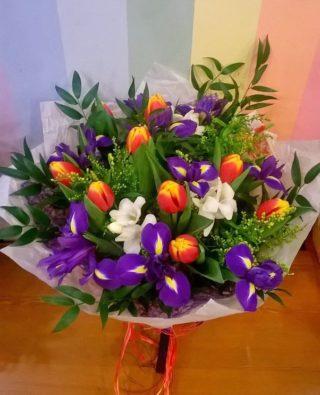 Букет тюльпанов №20