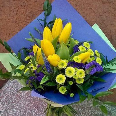 Букет тюльпанов №16