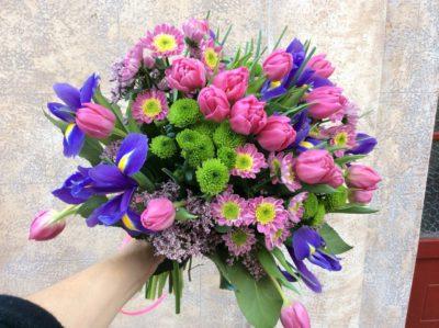 Букет тюльпанов №21