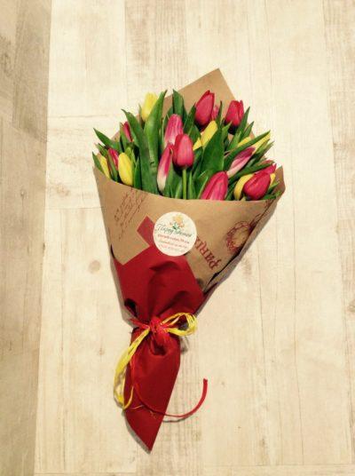Букет тюльпанов №12