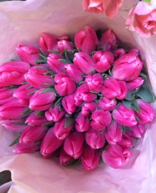 Букет тюльпанов №24