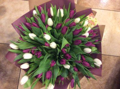 Букет тюльпанов №53
