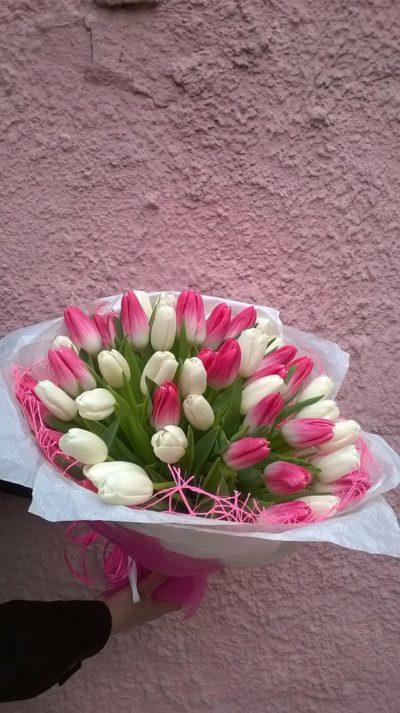 Букет тюльпанов №9