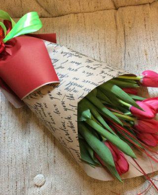 Букет тюльпанов №10