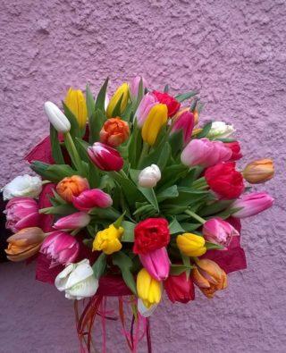 Букет тюльпанов №14