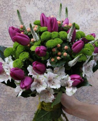 Букет тюльпанов №17