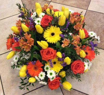 Букет тюльпанов №18