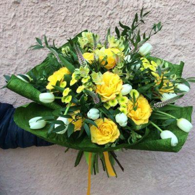 Букет тюльпанов №19