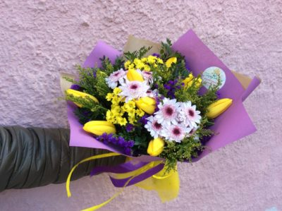 Букет тюльпанов №25