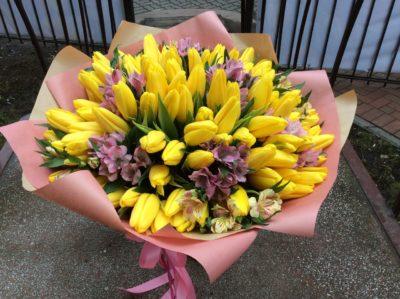 Букет тюльпанов №26