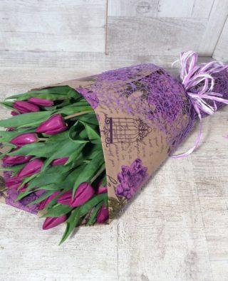 Букет тюльпанов №7