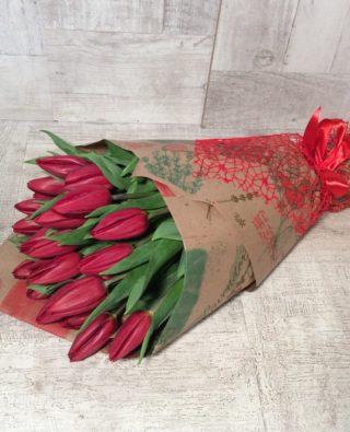 Букет тюльпанов №8