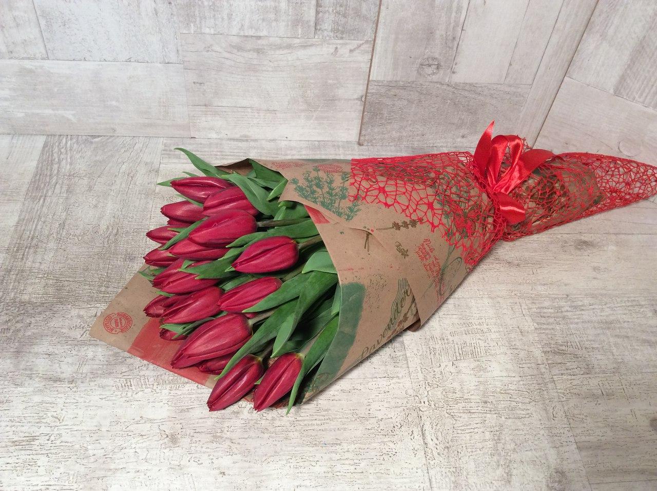 тюльпаны подарок букет 8 марта
