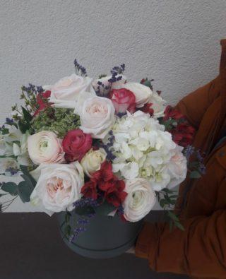 Цветы в коробке №3