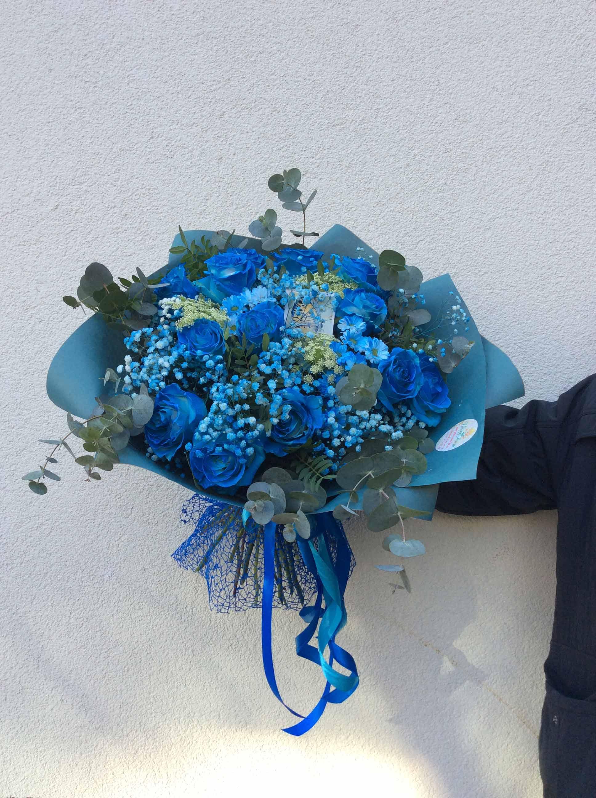 синии-розы