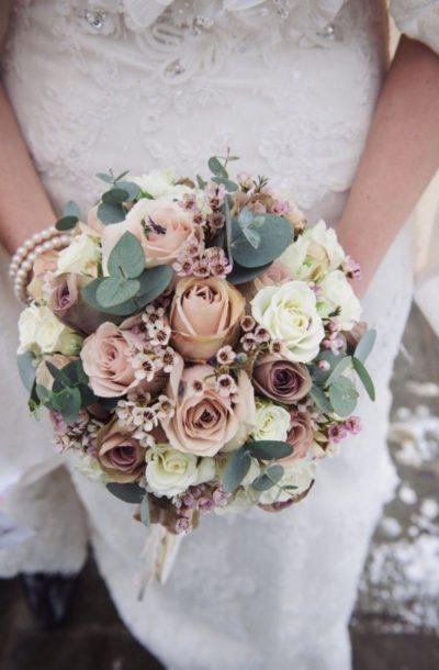 Зимние скидки 25% на свадебные букеты и оформление торжества!