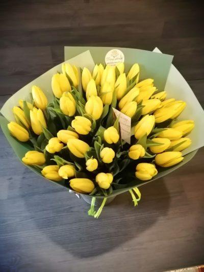 25 тюльпанов за 1000 рублей!